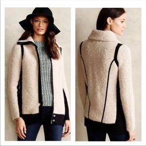 Anthropologie Sparrow Boucle Sweater Jacket